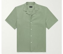 Camp-Collar TENCEL Lyocell Shirt