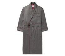 Duke Piped Cashmere Robe