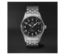 Pilot's Mark XVIII Automatic 40mm Stainless Steel Watch, Ref. No. IW327015
