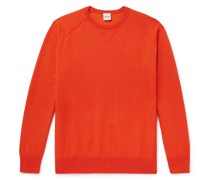 Cotton, Cashmere and Wool-Blend Jersey Sweater