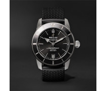 Superocean Héritage II B20 Automatic 42mm Stainless Steel and Rubber Watch, Ref. No. AB2010121B1S1