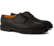 Milton Waxed-Leather Derby Shoes