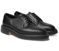 Robert Pebble-grain Leather Derby Shoes