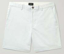 Baxter Cotton-Blend Piqué Shorts