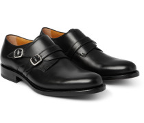 Bristol Leather Monk-strap Shoes