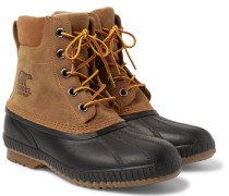Cheyanne Ii Waterproof Suede And Rubber Duck Boots