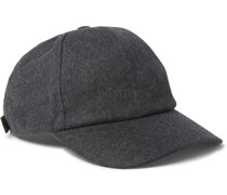 Worsted Wool-Flannel Baseball Cap
