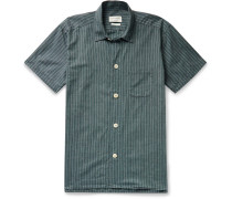Townsend Striped Organic Cotton Pyjama Shirt