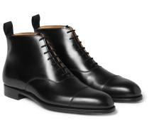 William Cap-Toe Leather Boots
