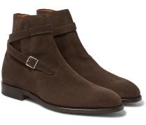 Abbott Suede Jodhpur Boots