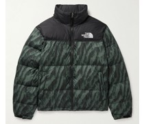 1996 Retro Nuptse Logo-Embroidered Quilted DWR-Coated Ripstop Down Jacket