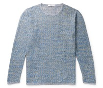 Deora Aille Ribbed Mélange Linen Sweater