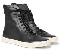 Mastodon Leather High-top Sneakers