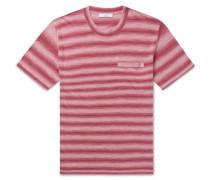 Striped Knitted Linen T-Shirt