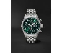 Pilot's Automatic Chronograph 41mm Stainless Steel Watch, Ref. No. IW388104