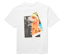 Rocky Elton Printed Cotton-jersey T-shirt