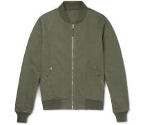 Cotton-jersey Bomber Jacket