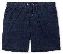 Cameron Cotton-Terry Drawstring Shorts
