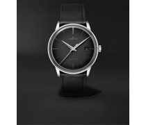 Meister Automatic 38mm Stainless Steel and Leather Watch, Ref. No. 027/4051.00