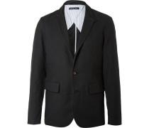 Slim-fit Unstructured Brushed-cotton Blazer