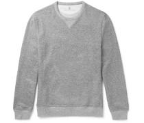 Mélange Loopback Cotton-jersey Sweatshirt