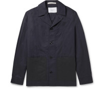 Mads Cotton and Nylon-Blend Jacket