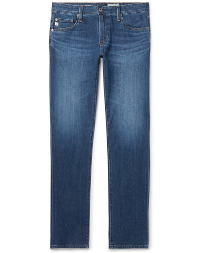 Tellis Slim-fit Stretch-denim Jeans - Blue