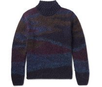 Camouflage Intarsia Sweater