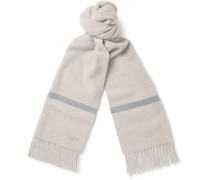 Striped Baby Cashmere Scarf