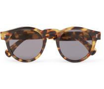 Leonard Round-frame Tortoiseshell Acetate Sunglasses