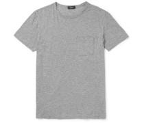 Perrey Slim-fit Mélange Pima Cotton-jersey T-shirt