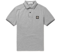 Slim-fit Stretch-cotton Piqué Polo Shirt