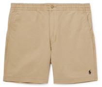 Stretch-Cotton Twill Chino Shorts
