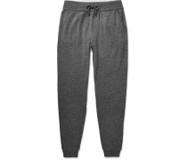 Tapered Cashmere And Silk-blend Sweatpants