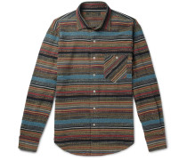 Striped Jacquard Shirt