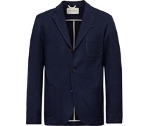 Solms Virgin Wool and Cotton-Blend Twill Blazer