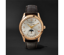Master Calendar 18-karat Rose Gold And Alligator Watch