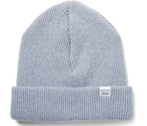 Norse Ribbed Lambswool Beanie