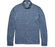 Mélange Slub Linen Shirt