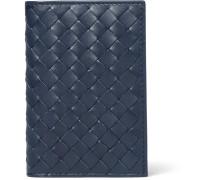 Intrecciato Leather Bifold Cardholder