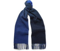 Double-faced Lambswool And Cashmere-blend Scarf
