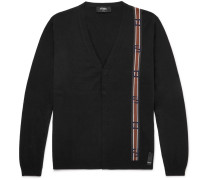 Intarsia Cotton And Cashmere-blend Cardigan