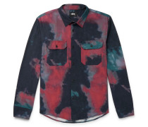 Tie-Dyed Cotton Shirt