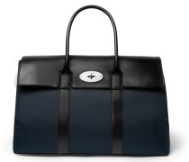 Piccadilly Leather And Canvas Holdall