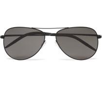Kannon Aviator-style Metal Sunglasses