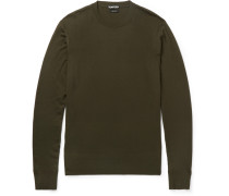 Slim-fit Wool Sweater