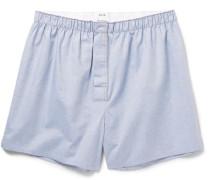 Boxa Cotton-chambray Boxer Shorts