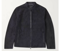 Moore Grand Suede Bomber Jacket