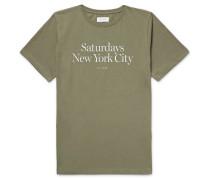 Miller Standard Printed Cotton-jersey T-shirt