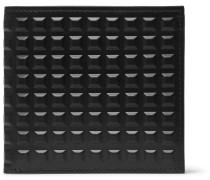 Studded Leather Billfold Wallet